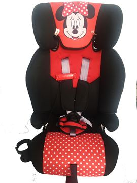 Imagen de Butaca  Booster  y  Silla de auto Minnie
