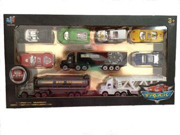 Imagen de Autitos y camiones de juguete