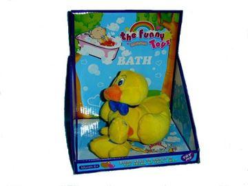 Imagen de Peluches patos de baño para bebes.
