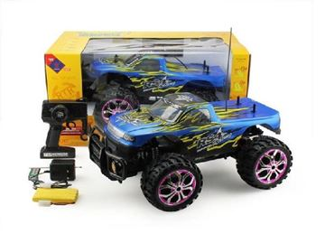 Imagen de Camioneta Monster Cross Truck-man con luces
