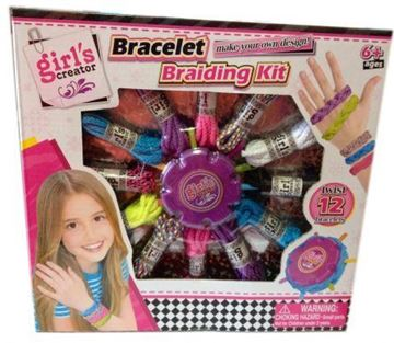 Imagen de Set para armar pulseras 2 en 1 infantil