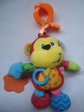 Imagen de Colgante mono multicolor