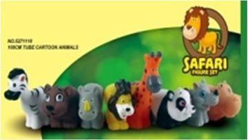 Imagen de Animales de la selva en tubo