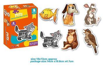 Imagen de Puzzle animales de casa