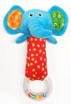 Imagen de Sonajero bastón elefante