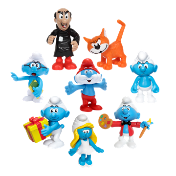 Imagen de Pitufos figuras - muñecos pack