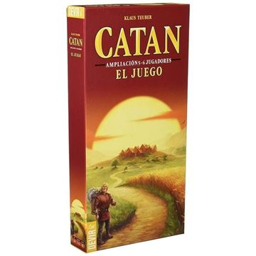Imagen de Catan - Ampliación 5-6 jugadores