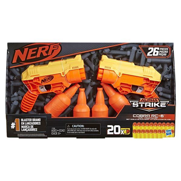 Imagen de Nerf Alphastrike Core Cobra RC 6 Duel Target Set