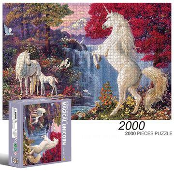 Imagen de Puzzle Unicornios 2000 pcs